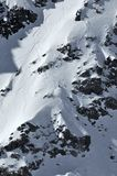 femmes extrêmes de ski Photo stock