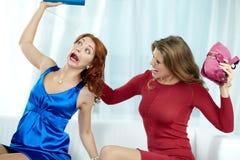 Femmes folles Photo stock
