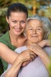 femmes heureux Photographie stock libre de droits