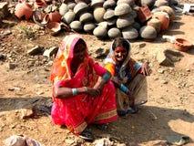 Femmes indiens Photo libre de droits