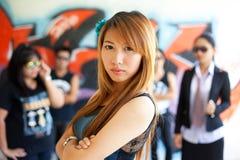 Femmes influents photo stock