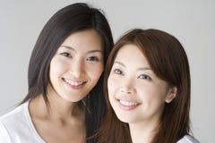 Femmes japonaises de sourire images stock