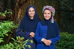 Femmes musulmanes attirantes Photographie stock