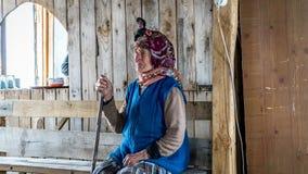 Femmes non identifiées de la Mer Noire Karadeniz Laz avec sa robe traditionnelle de Rize, Turquie photographie stock