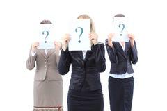 Femmes non identifiables d'affaires Image libre de droits