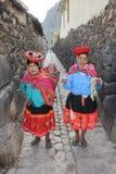 Femmes péruviens Photos stock