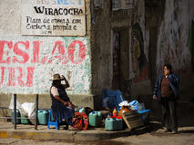 Femmes Quechua, Pérou photos libres de droits