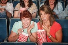 Femmes riants à l'exposition d'illustration Image libre de droits