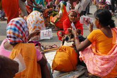 Femmes rurales Photo stock