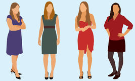 Femmes sexy illustration libre de droits
