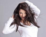 femmes sexy de verticale Photos libres de droits
