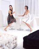 Femmes sur la pause-café a Image stock