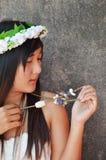 Femmes thaïlandaises de jeune mariée Image libre de droits