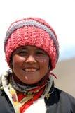 Femmes tibétaines pour une promenade Photo stock