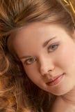 Femmina abbastanza dai capelli rossi Immagini Stock Libere da Diritti