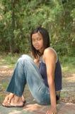 Femmina afroamericana Fotografie Stock Libere da Diritti