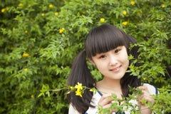 Femmina asiatica Fotografia Stock
