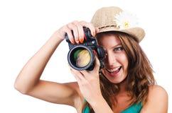 Femmina attraente Fotografia Stock Libera da Diritti