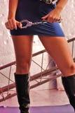 Femmina crespa Fotografie Stock