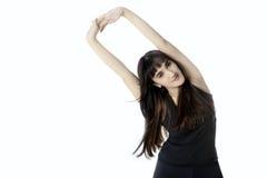 Femmina del Medio-Oriente che allunga le mani Immagine Stock Libera da Diritti
