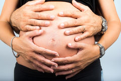 Femmina incinta Immagini Stock
