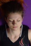 Femmina Meditating Fotografia Stock Libera da Diritti