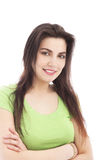 Femmina sorridente Immagine Stock