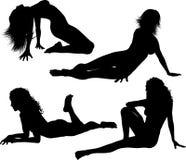 Femmine sexy Immagini Stock