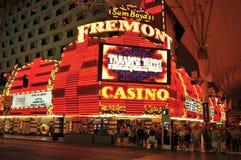 Femont娱乐场在拉斯维加斯,美国 库存照片