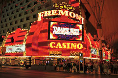 Femont Casino in Las Vegas, United States Stock Photos