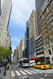 Femte ave, Manhattan, New York City Royaltyfri Bild
