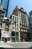 Femte ave, Manhattan, New York City Fotografering för Bildbyråer