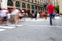 Femte aveny, New York Royaltyfri Fotografi