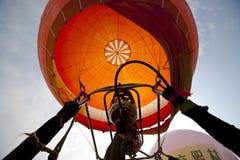 femte internationella langfang för ballongporslinfesti Royaltyfria Foton