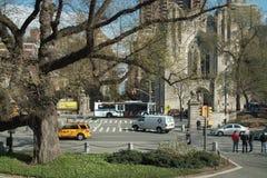 femte nya gata york för 90th aveny Fotografering för Bildbyråer