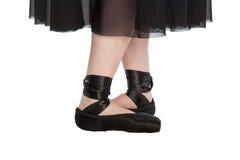 femte pos. för balett Royaltyfria Bilder