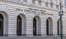 Femte strömkretsdomstol av vädjaner i New Orleans Arkivfoto