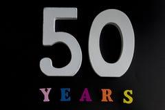 Femtio år Fotografering för Bildbyråer