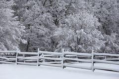 Femtio skuggor av vit på bergöverkanten Royaltyfri Foto