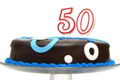 Femtionde födelsedagberöm Arkivbild