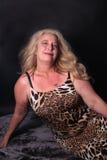 femtiotal henne kvinna arkivbild