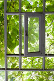 Fenêtre à l'été Photographie stock libre de droits