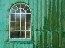 Fenêtre à tête ronde Photos stock