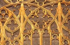 Fenêtre antique. Image libre de droits