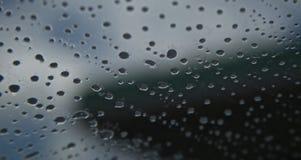 Fenêtre après pluie Photo libre de droits