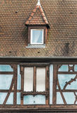 Fenêtre avec des abat-jour Images stock
