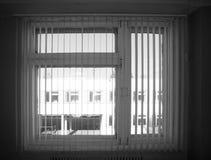 Fenêtre avec des volets Photo stock