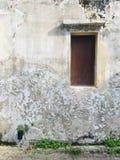 Fenêtre avec le mur, un bon endroit pour prendre la photo photos stock