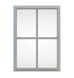 Fenêtre blanche Images stock