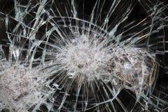 Fenêtre cassée Photographie stock libre de droits